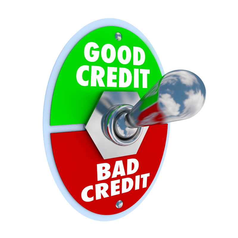 Good Credit/Bad Credit Switch on Good Credit.
