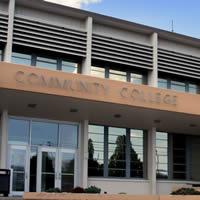 Community College building.
