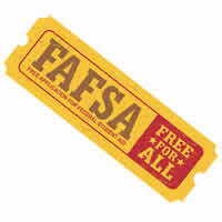 A hypothetical FAFSA admission ticket